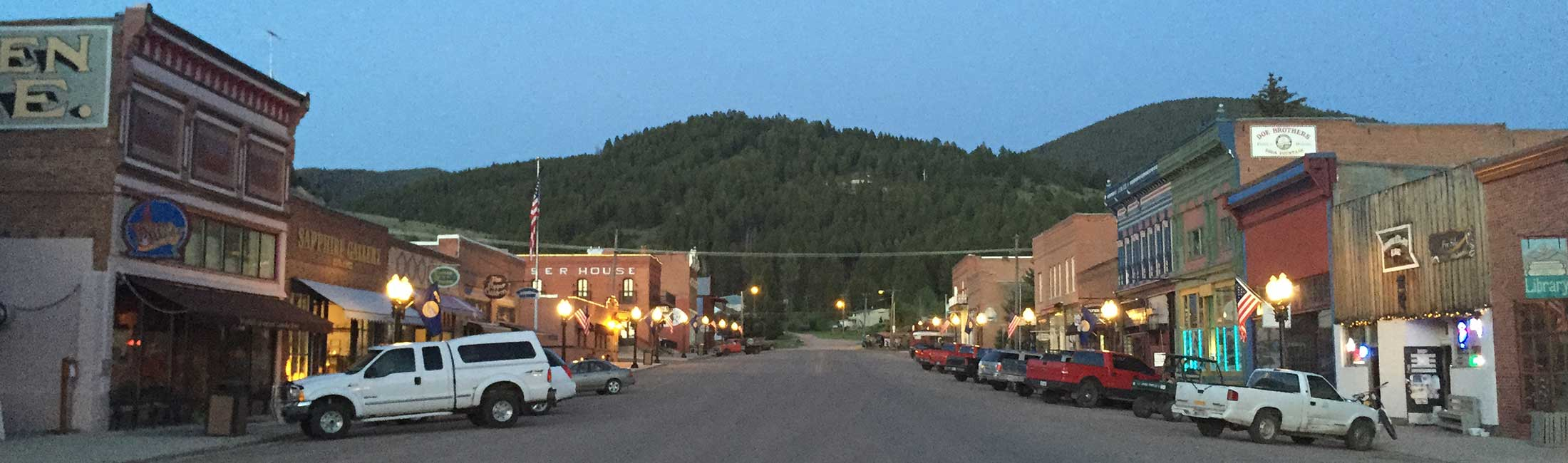 Philipsburg, MT in Western Montana