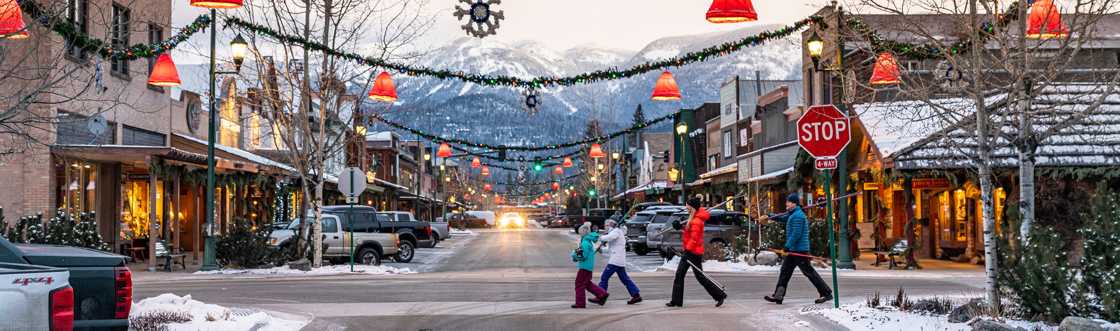 Whitefish, MT in Western Montana
