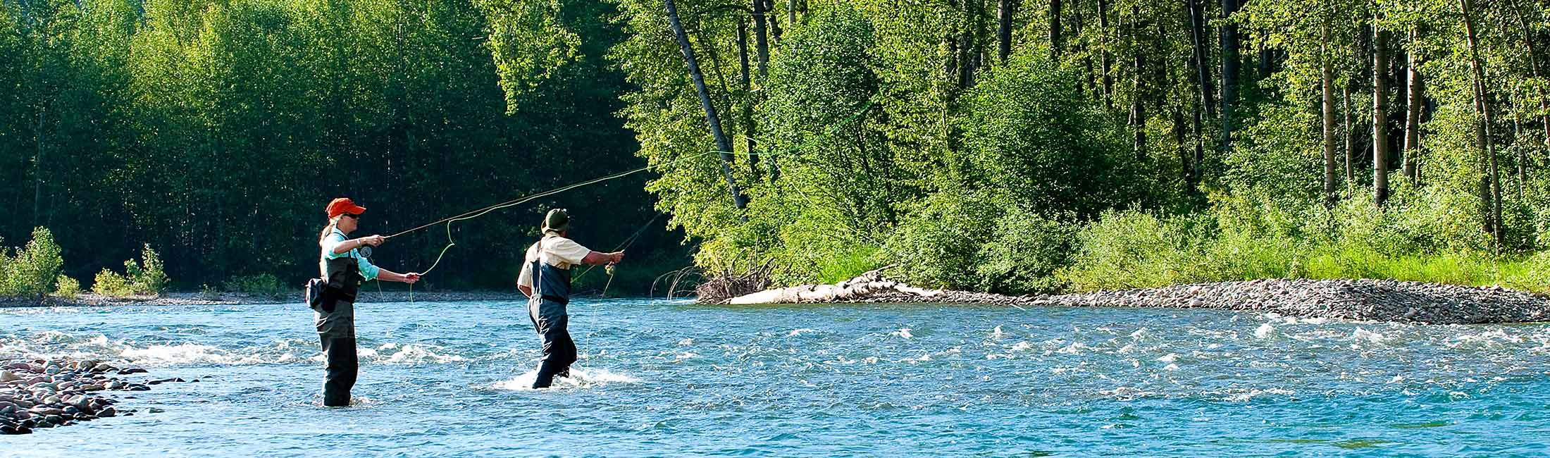 Fall is a great time to try your hand at fishing in Western Montana.